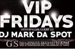 Friday Nights – VIP Friday's at G/S Sports Bar & Grill
